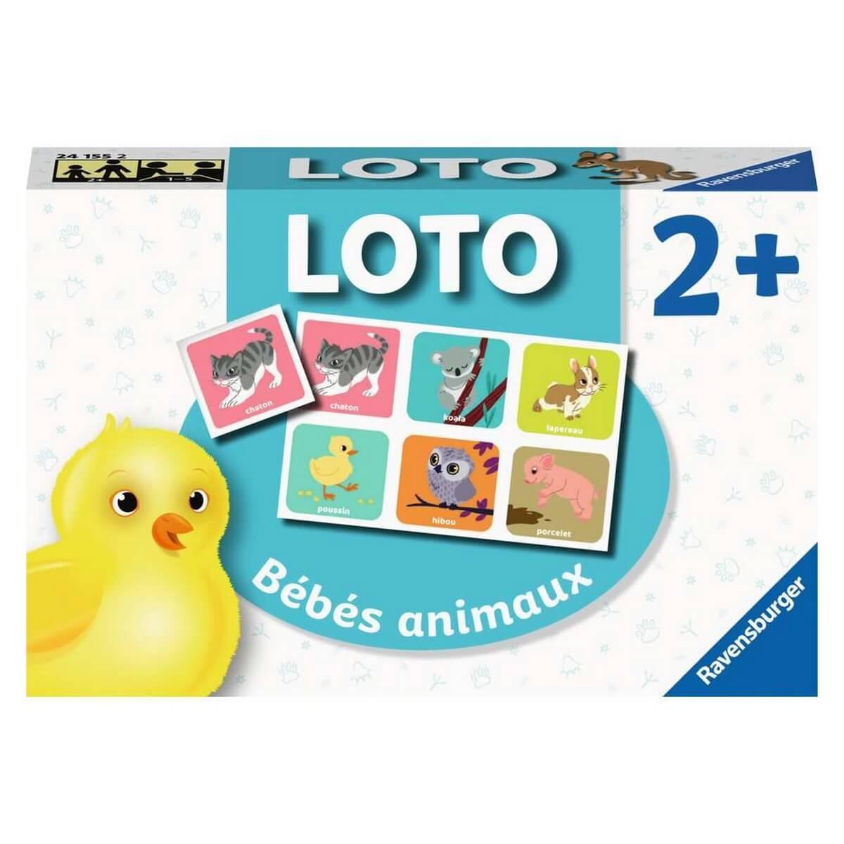 Loto : Les bébés animaux