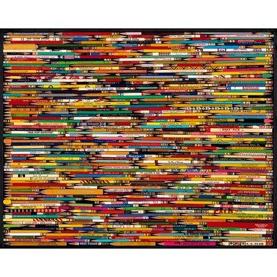 Puzzle 1000 pièces - Collage de crayons