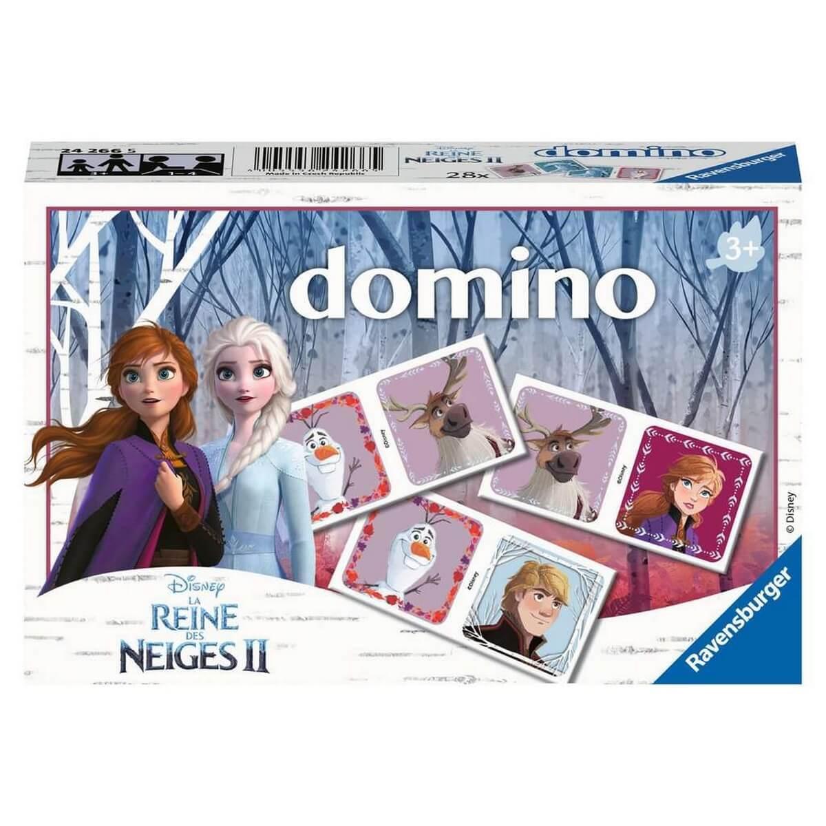 Jeu de Domino : Disney La Reine des Neiges 2 (Frozen 2)