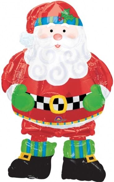 Ballon airwalker Père Noël
