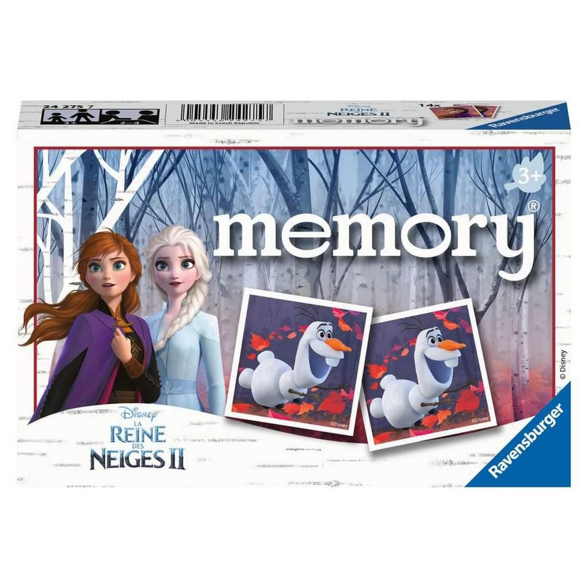Jeu de memory : Disney La Reine des Neiges 2 (Frozen 2)