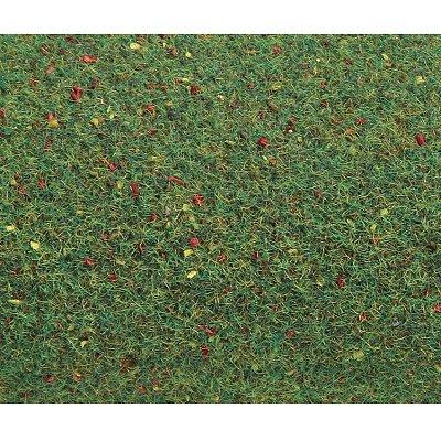Modélisme : Végétation : Plaque de terrain : Prairie fleurie