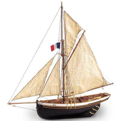 Maquette bateau en bois : Jolie brise - Jeux et jouets