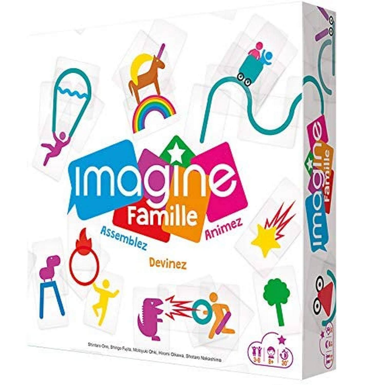 Jeu de société : Imagine Famille