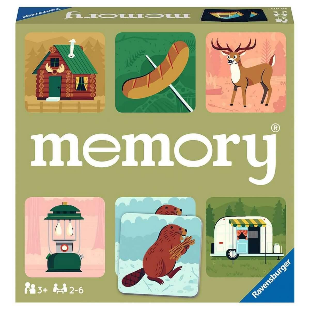 Jeu Grand memory : Les grands espaces