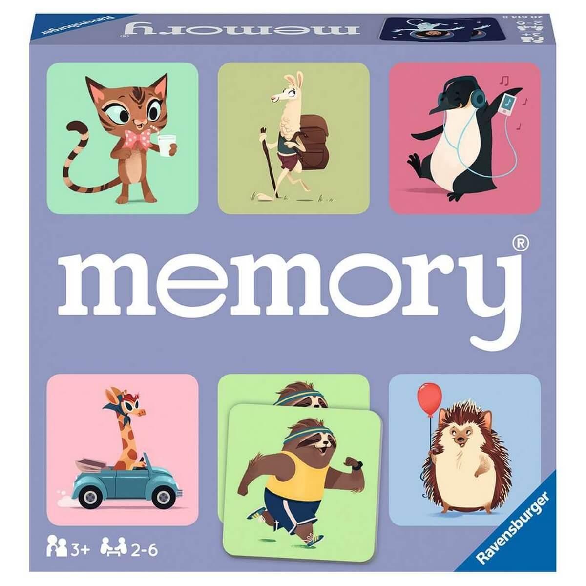 Jeu Grand memory : Le monde sauvage des animaux