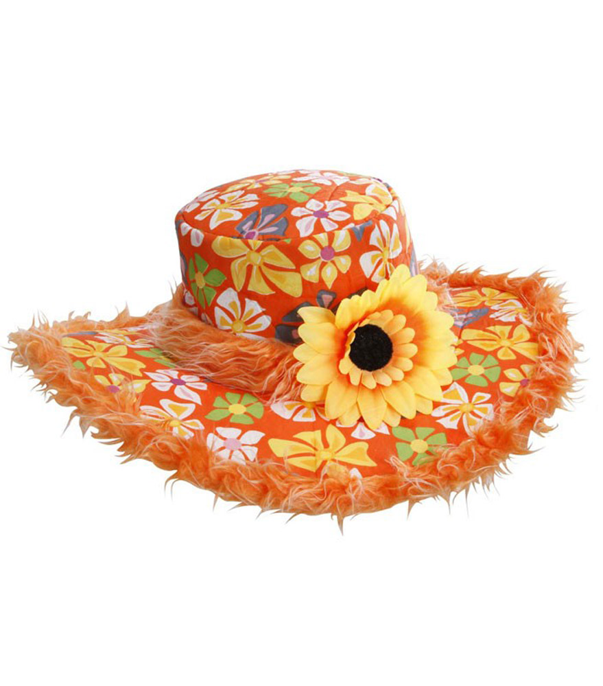 Chapeau Hippie Ibiza Tournesol - Orange