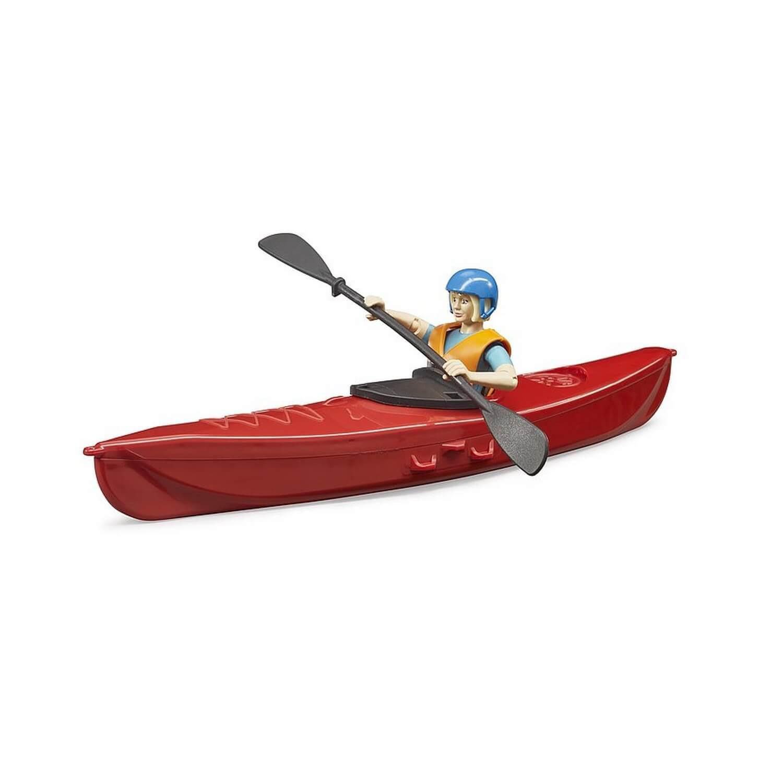 Figurine Bworld : Kayak avec figurine