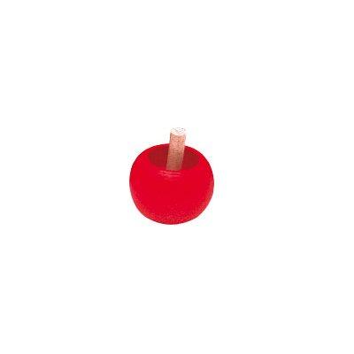 Toupie : Pomme : Rouge