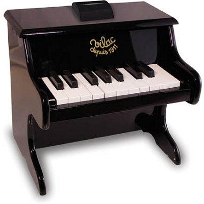 Piano noir en bois