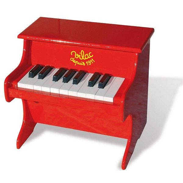 Piano en bois laqué
