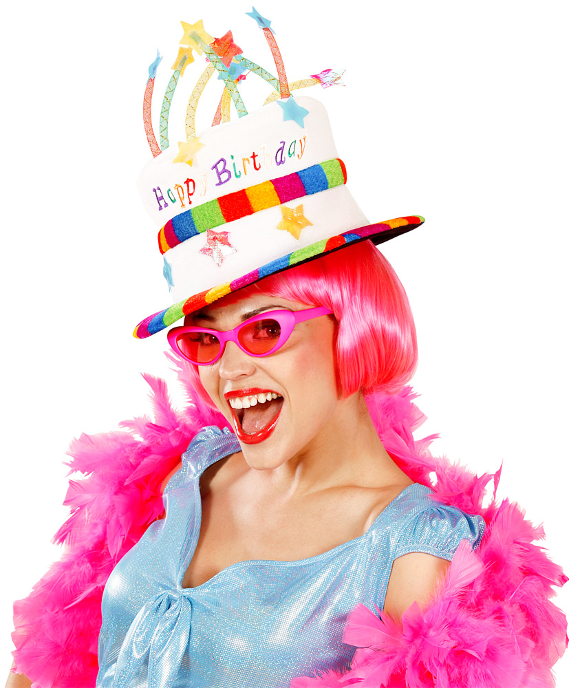 Chapeau en Velours - HAPPY BIRTHDAY