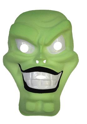 Masque Monstre Vert Enfant - Halloween