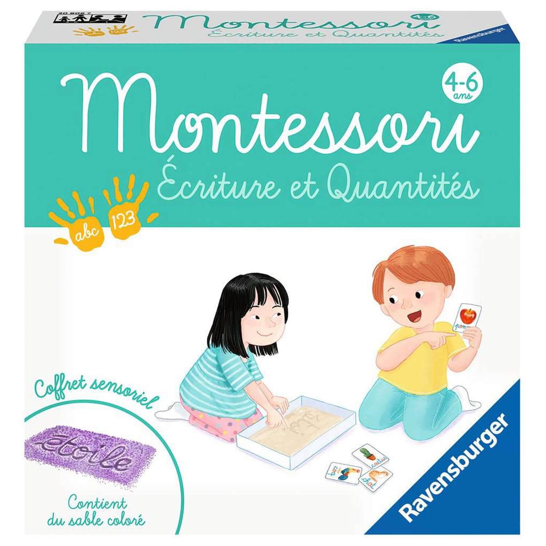 Montessori : Ecriture et quantité