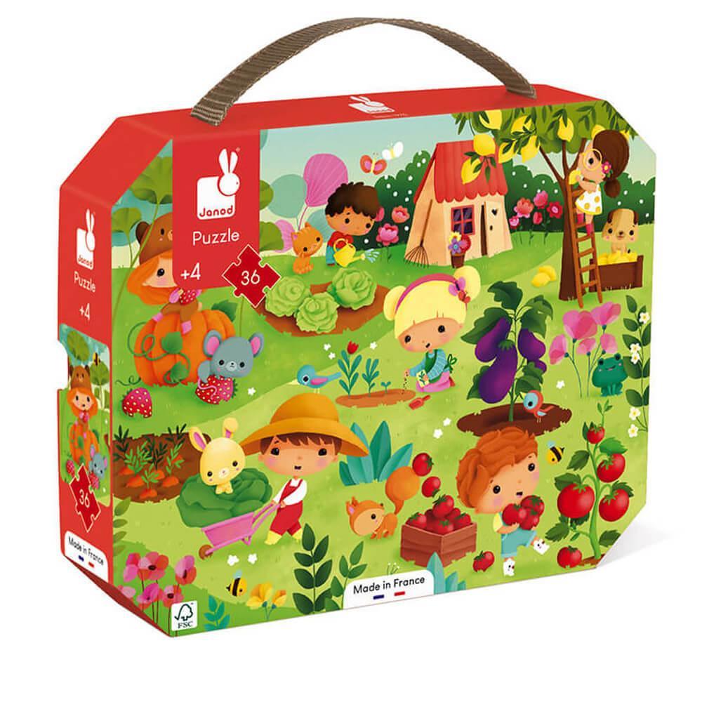 Puzzle 36 pièces : Mon jardin potager