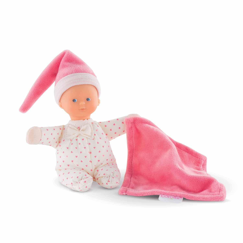 mon doudou Corolle : Mini rêve coeur rose