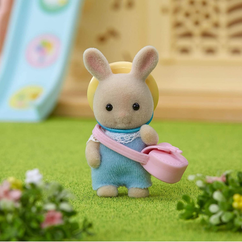 Sylvanian families 5413 : Le bébé lapin crème