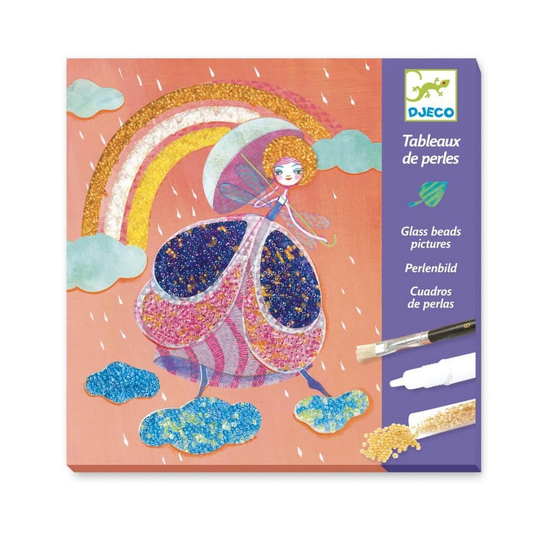 Kit créatif tableaux de perles : Féérie