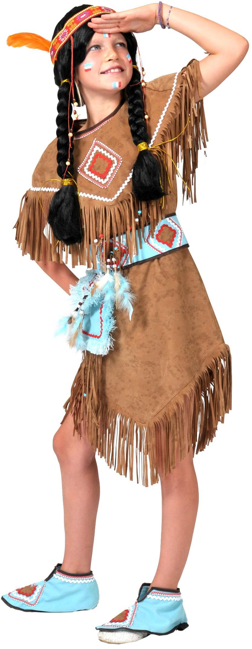 Costume Indienne Déguisement Enfant Rue De La Fête
