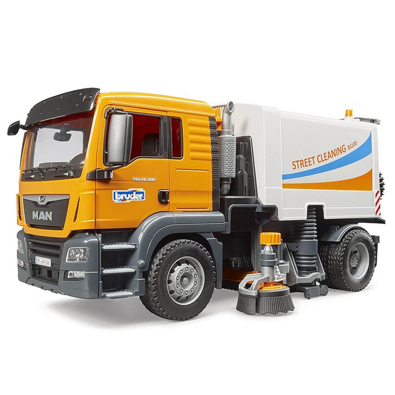 Camion de nettoyage des rues MAN TGS