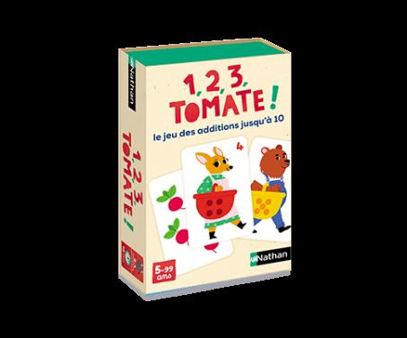 1, 2, 3, tomate