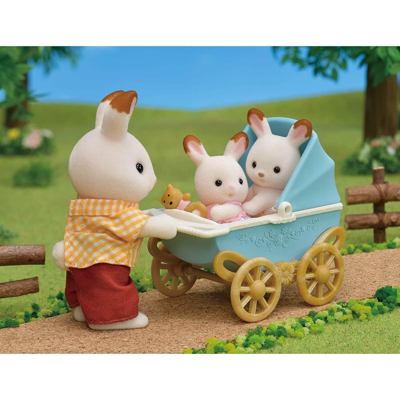 Sylvanian Families 5432 : Les jumeaux lapin chocolat