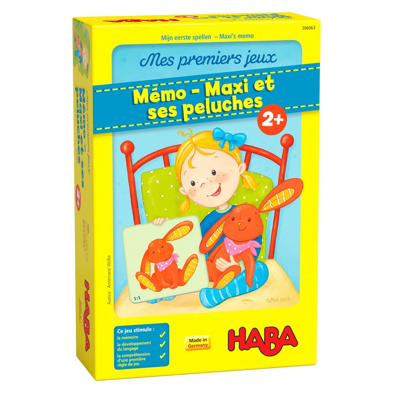 Mémo : Maxi et ses peluches