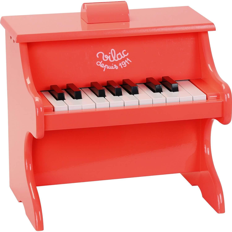 Piano crazy orange en bois 18 touches