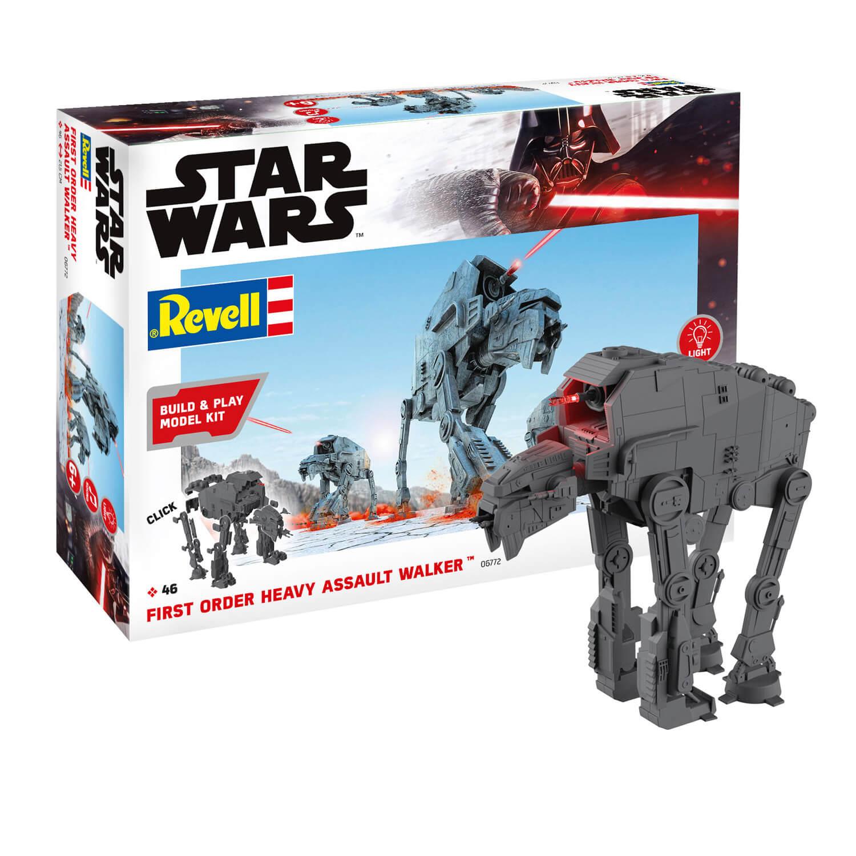 Maquette Star Wars : Build & Play : First Order Heavy Assault Walker