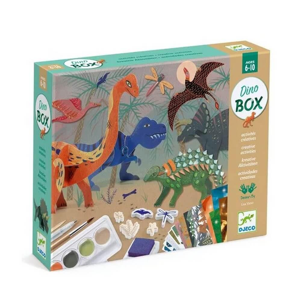 Coffret multi activités : Le monde des dinosaures