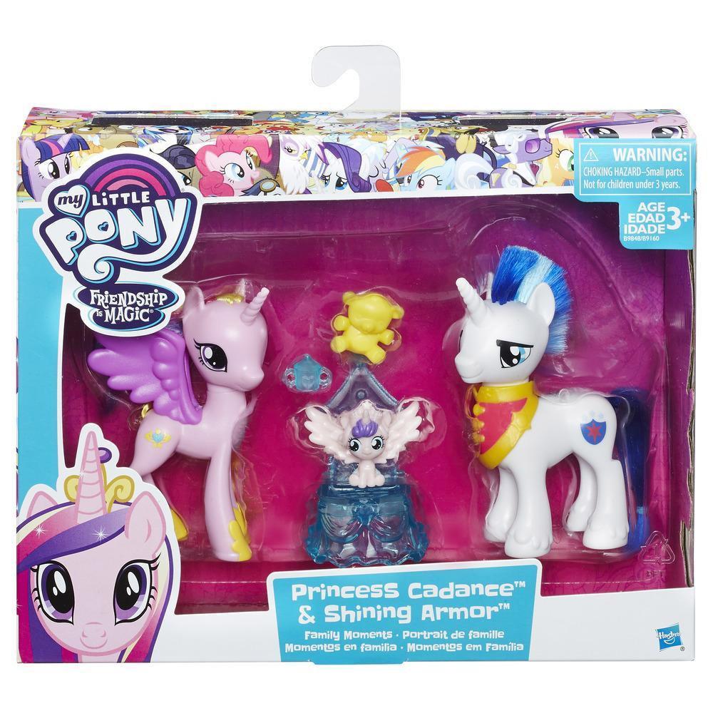 Armor My Little Et PonyCoffret En Moments Cadence Famille Princesse Figurine Shining j5AL4q3R