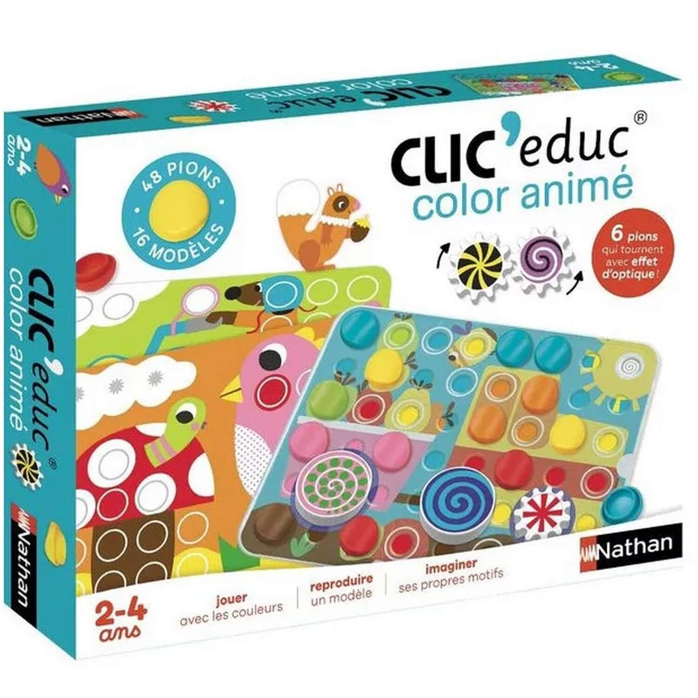 Clic'educ : color animé