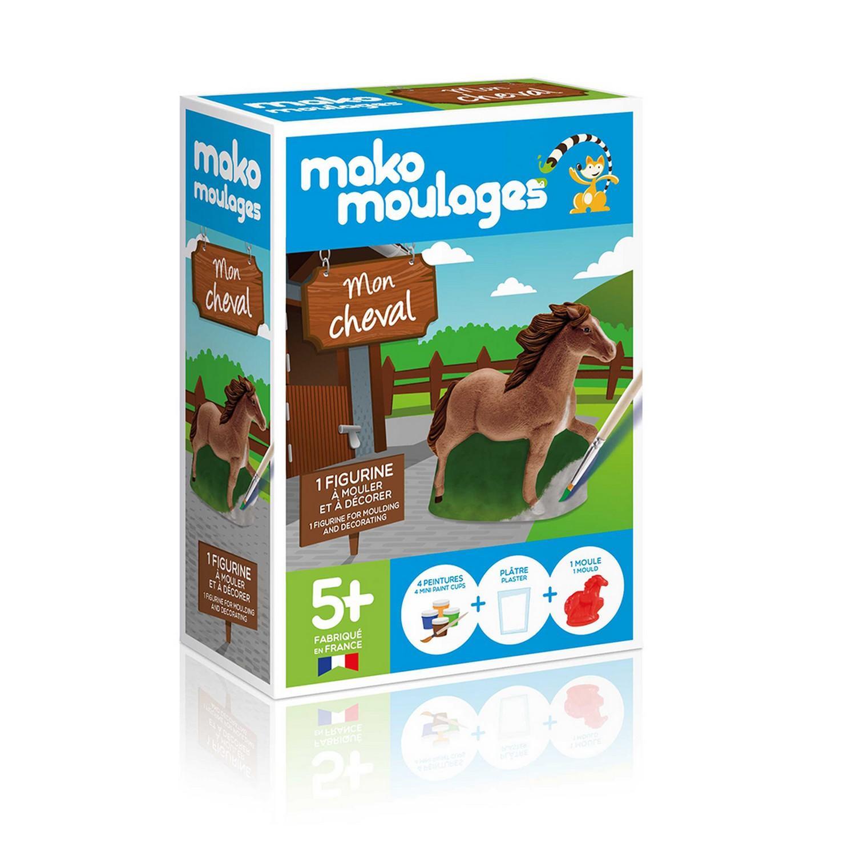 Moulage en plâtre Mako créations : Mon cheval