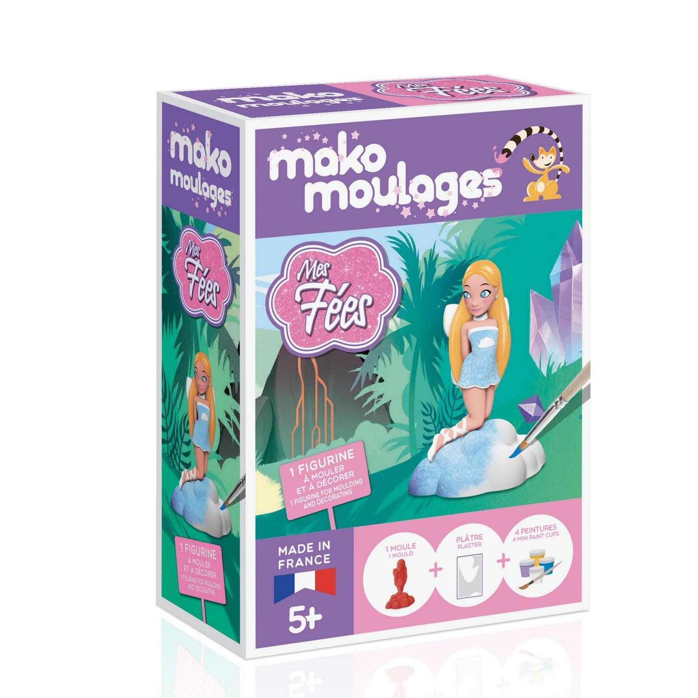 Moulage en plâtre Mako créations : ma fée de l'air