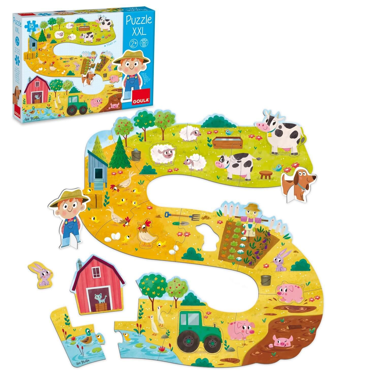 Puzzle 18 pièces XXL : Bébé ferme