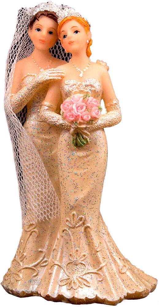 Figurine Couple Mariées Homosexuel - Femme