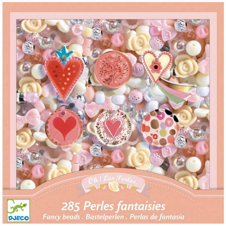 Coffret Perles Fantaisies Coeurs