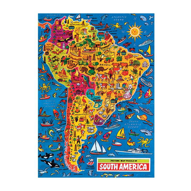 Carte De Lafrique Quiz.Puzzle 500 Pieces Carte De L Afrique