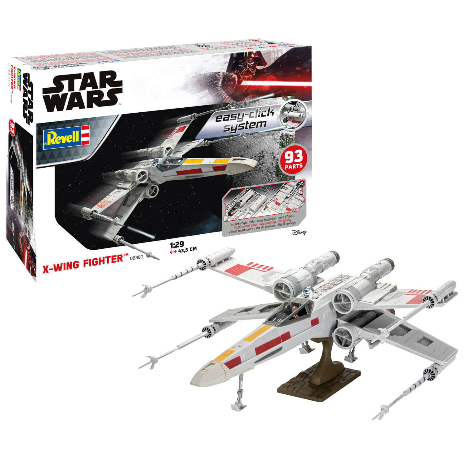 Maquette Star Wars : Easy Click : X-Wing Fighter