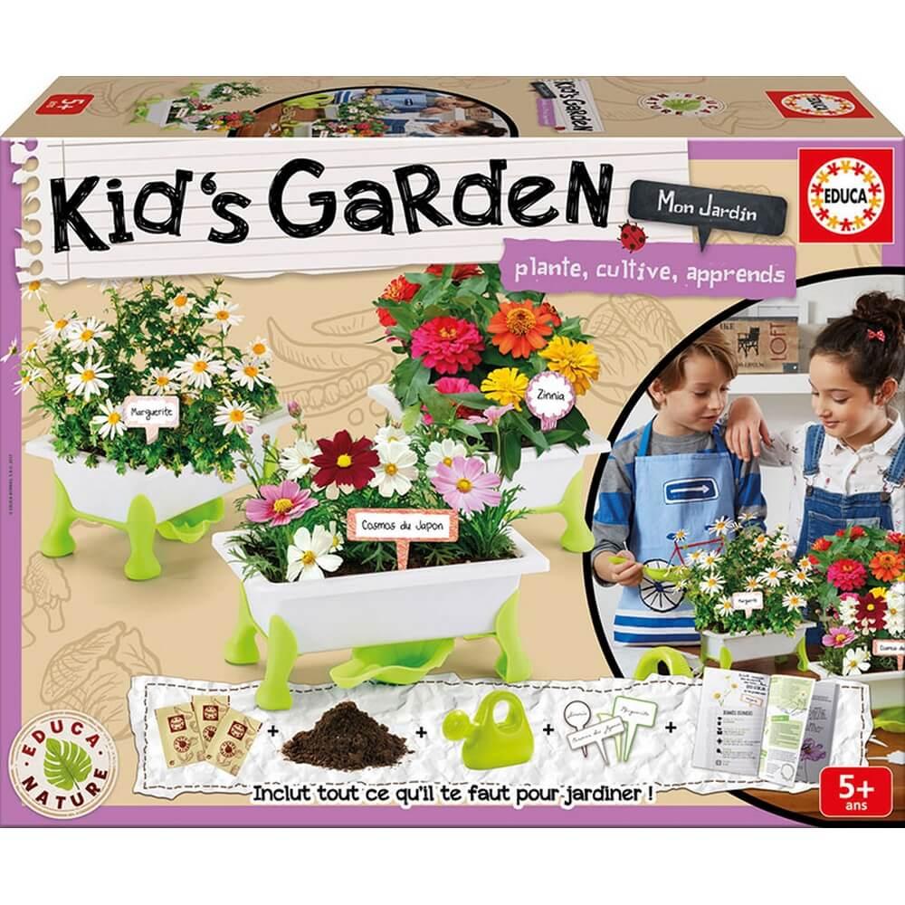 Kid's Garden : Fleurs : Marguerites, Zinias et Cosmos
