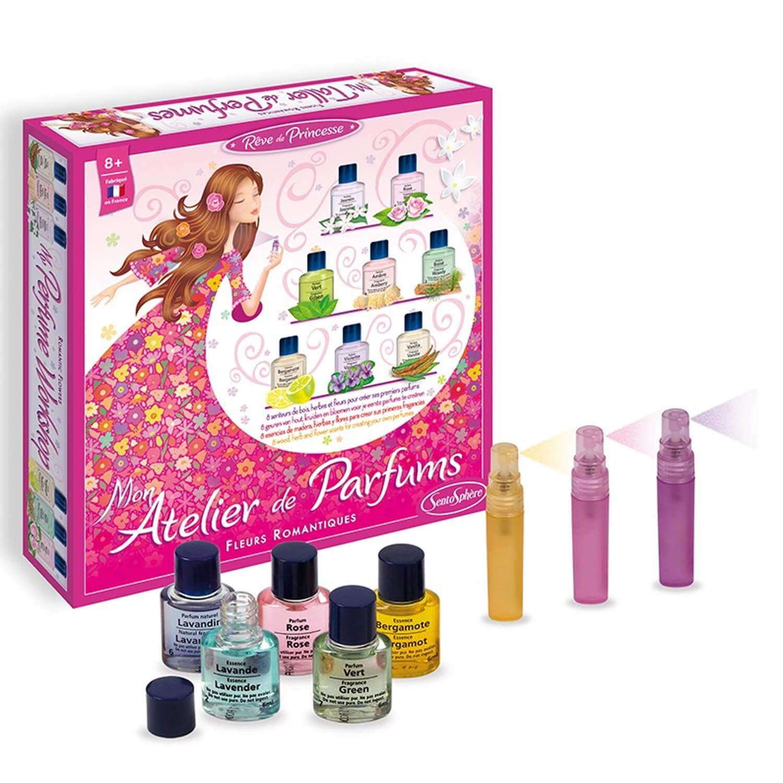 Mon atelier de parfums : Fleurs romantiques