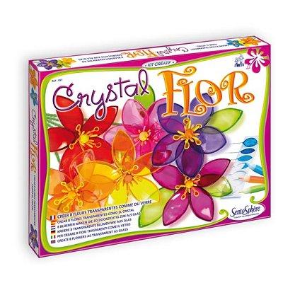 Kit créatif décoration Crystal Flor