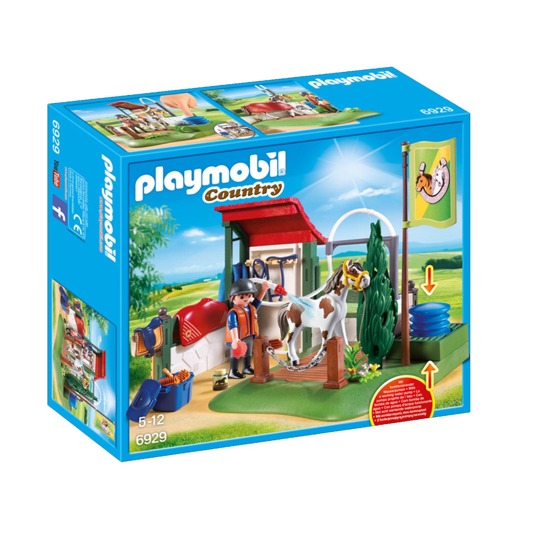 Playmobil 6929 Country : Box de lavage pour chevaux