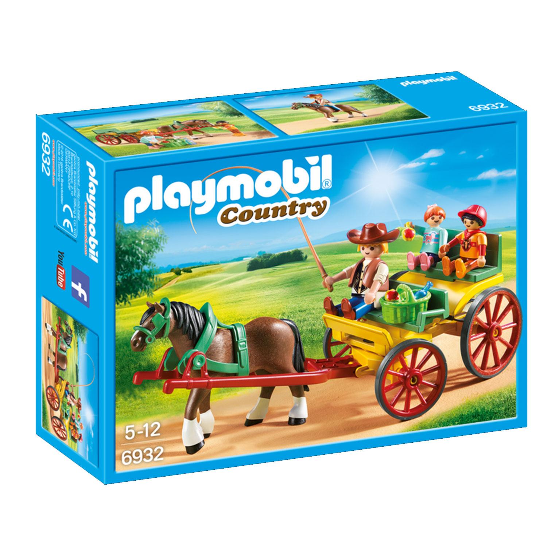 Playmobil 6932 Country : Calèche avec attelage