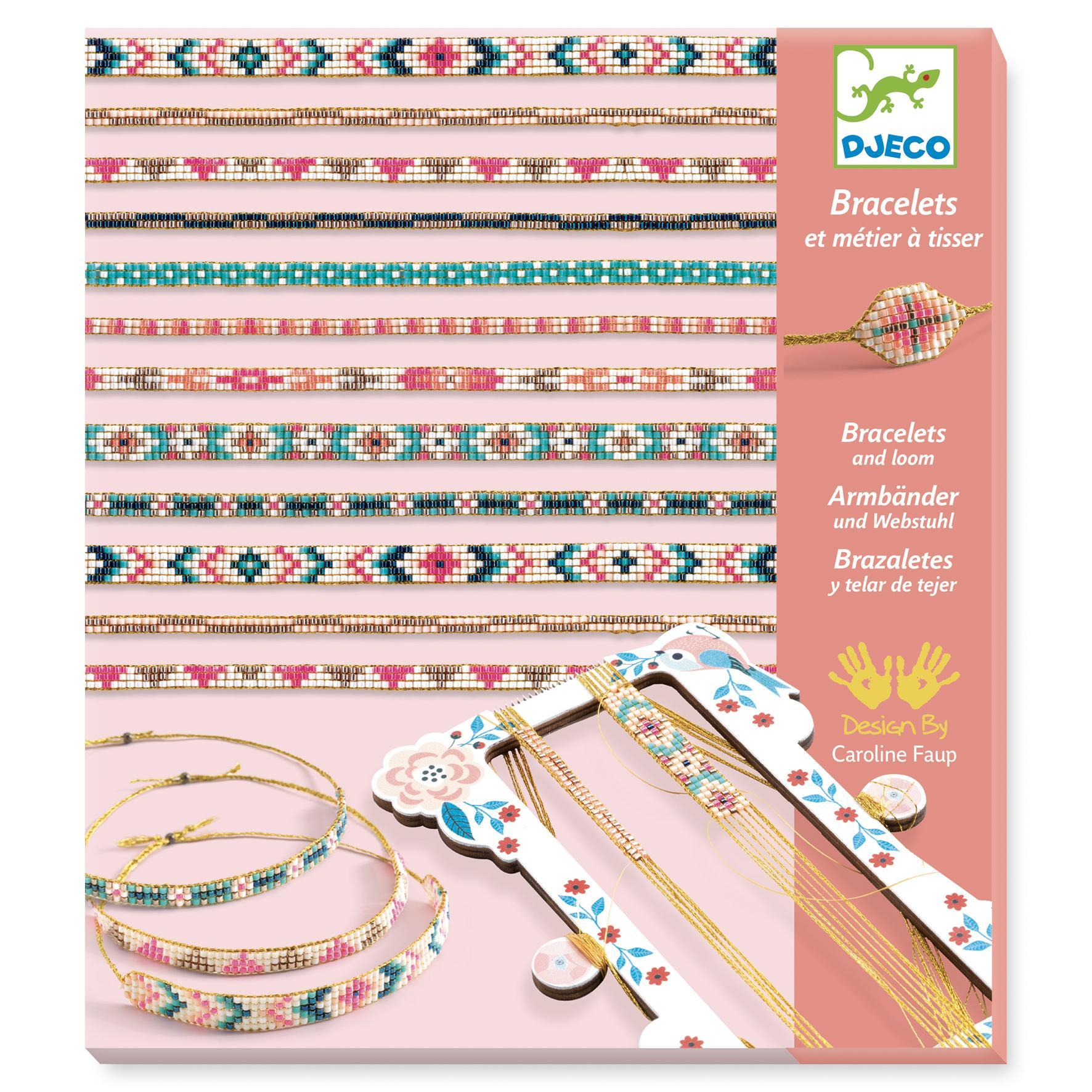 Coffret de bracelets et métier à tisser : Minuscules