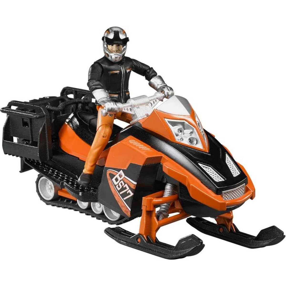 Moto neige avec conducteur