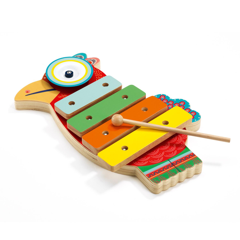 Xylophone et cymbale Animambo