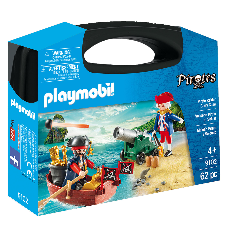 Playmobil 9102 : Valisette Pirate et Soldat