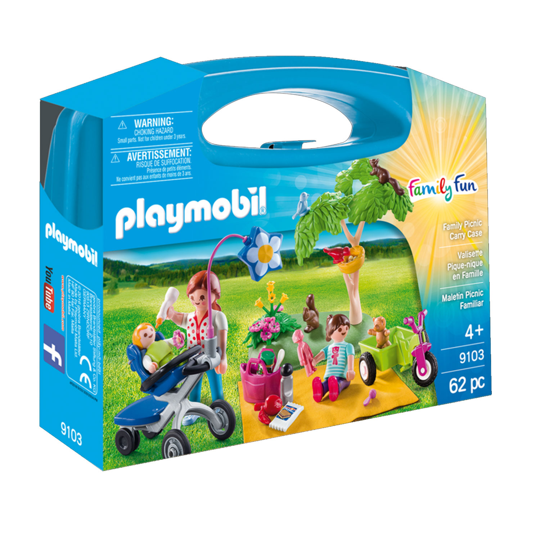 Playmobil 9103 Family Fun : Valisette Pique-nique en Famille