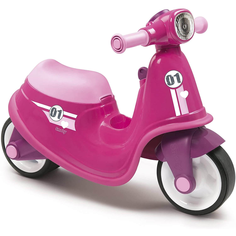 Porteur scooter rose